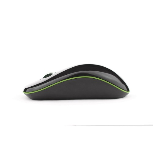 MICROPACK Optical Mouse [MP-770] - Black/Green - Mouse Basic